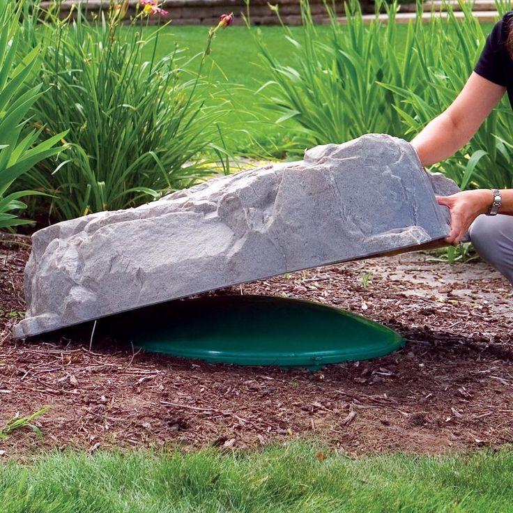 Brittain Artificial Rock Garden Stone in 2020 Rock