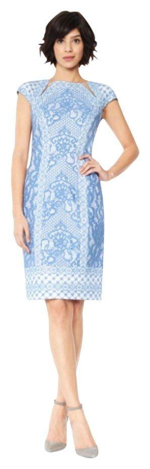 Tadashi Shoji Ash1813m Dress. Free shipping and guaranteed authenticity on Tadashi Shoji Ash1813m Dress at Tradesy. sleek and sophisticated cocktail dress gets a mode...