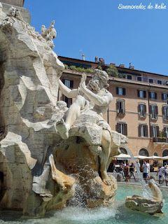 Fuente de los Cuatro Ríos, Piazza Navona, Roma
