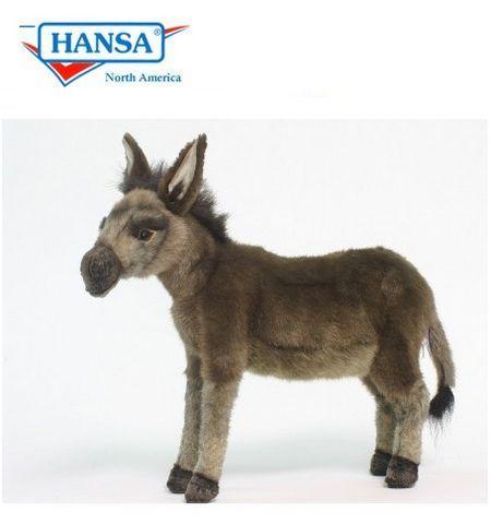 Мягкая игрушка Ослик 41 см, HANSA