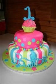 1st birthday cake ideas for a girl - love this one for Avery