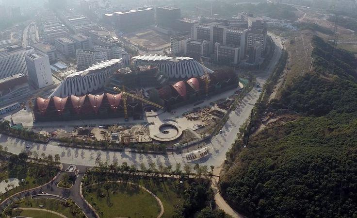 Architecture van Brandenburg from New Zealand design the Marisfrolg Headquarters in Shenzhen, China.