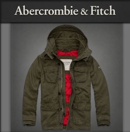 Abercrombie & Fitch Hollister Men's Jacket Parka Adams Mountain Outerwear XL   1 day sale 10% off sale price