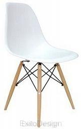 Krzesło Eteo DSW white ABS