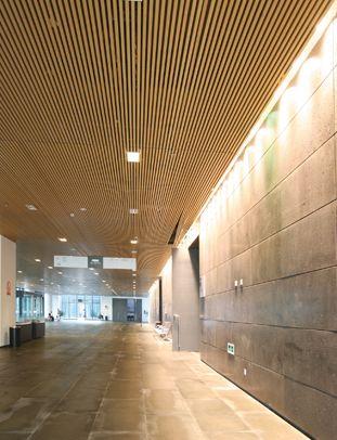 Hunter douglas contract at xuzhou art museum