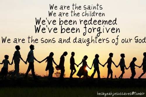 WE ARE THE SAINTS