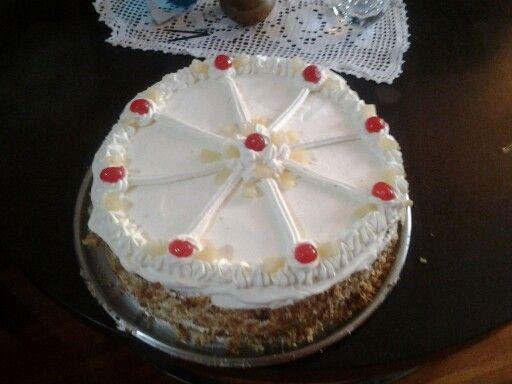 Torta piña Teresa Sanchez