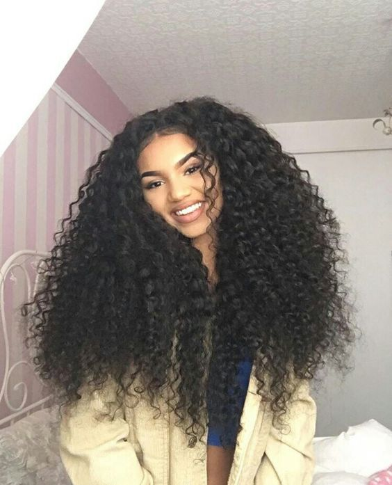 how to get big curly hair with extensions