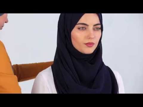INAYAH | 3 HIJAB TUTORIALS FOR MAXIMUM CHEST COVERAGE - YouTube