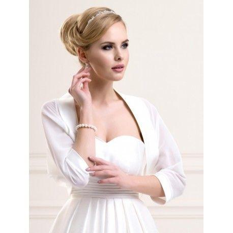 chle tole bolro de mariage mousseline de soie blanc noir ivoire accessoires de la marie - Etole Mariage Noire