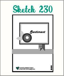 Atlantic Hearts Sketch Challenge : Sketch; Sketch #230