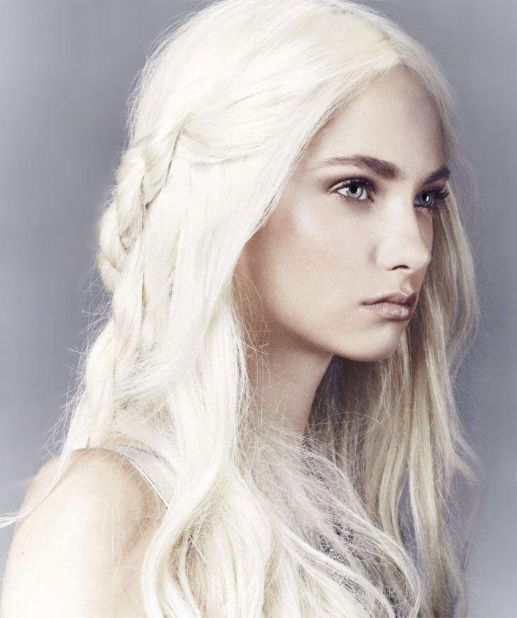 Targaryen | ♢Targaryen and dragons♢ | White blonde hair ...  Targaryen | ♢...
