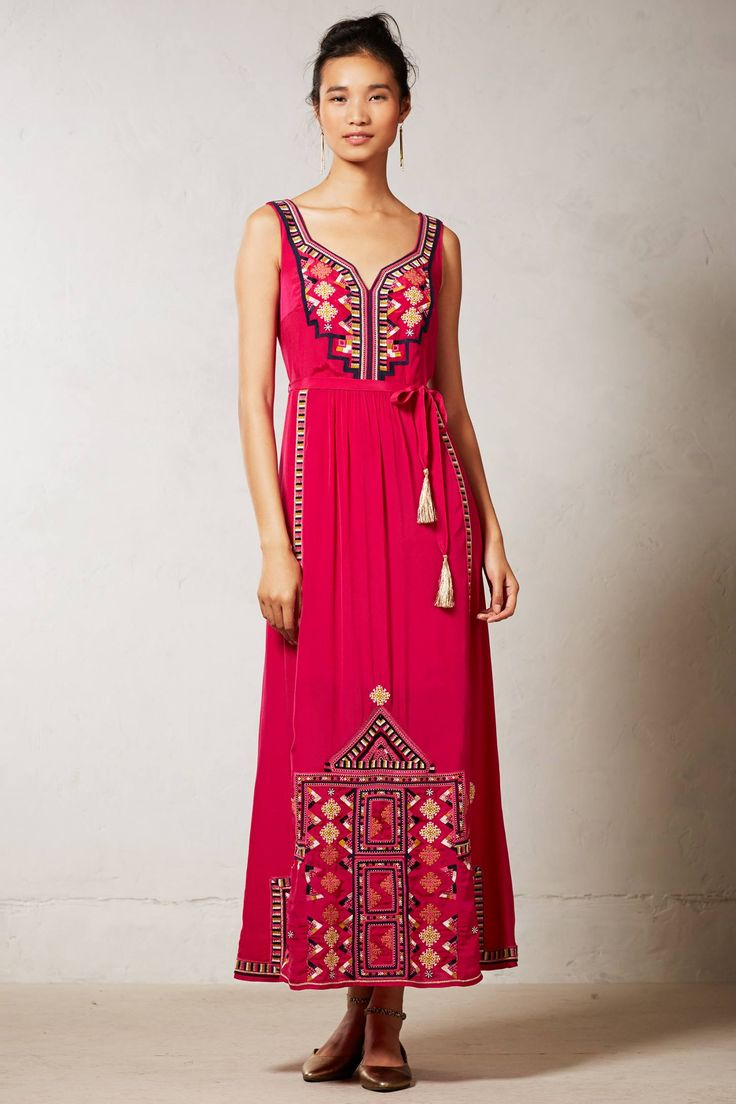 Dayak maxi dress anthropologie maxi dresses and clothes for Anthropologie mural maxi dress