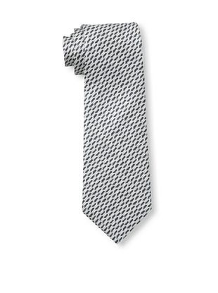 61% OFF Valentino Men's U Pattern Tie, Grey