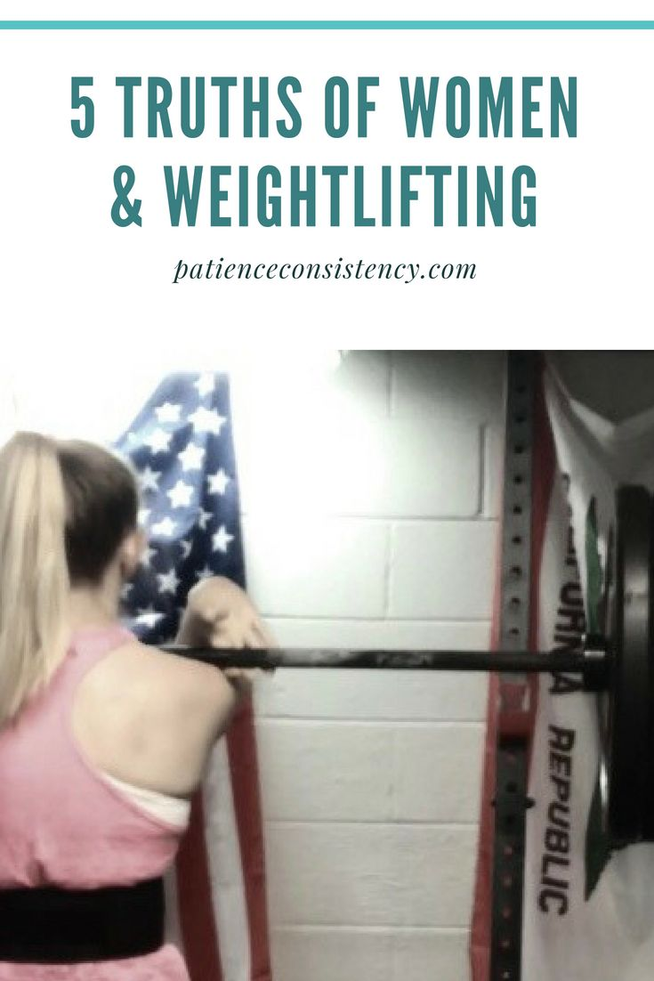 Should women be weightlifting? We get this questions all the time. Check out 5 Truths of Women & Weightlifting.