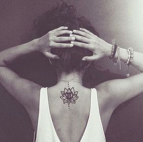 7 delicate back tattoos and their meanings