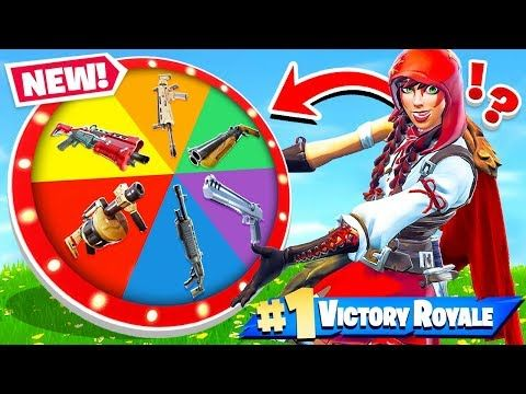 Nice Wheel Of Weapons New Game Mode In Fortnite Battle Royale
