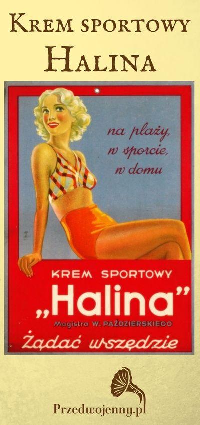 Krem sportowy Halina - kosmetyk II RP