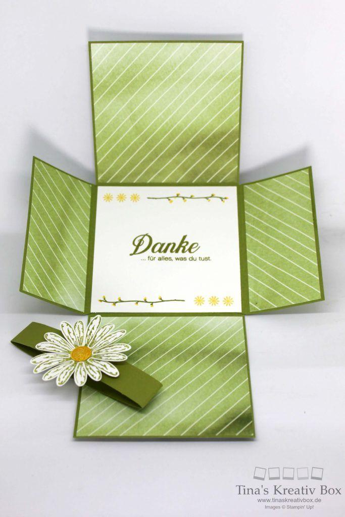 Blog Hop inspireink – Fancy Fold Card - mit Produkten von Stampin' Up!
