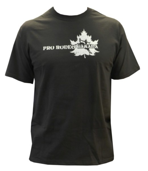 Mens CPRA Tee - Brown tee with tan CPRA screenprint on front. 100% Pre-Shrunk Cotton