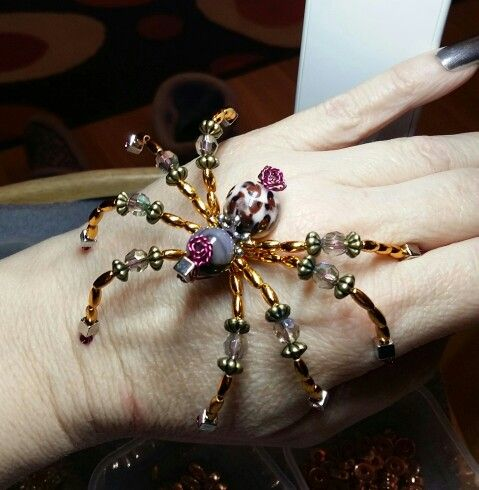 New collection of steampunk mechanical inspired spiders