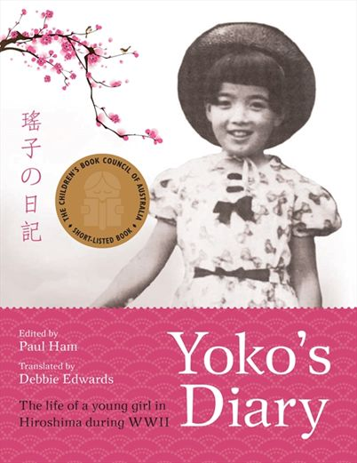 Eve Pownall Award for Information Shortlist - 1945 was a hard time to be a child in Japan. In April 1945, Yoko Moriwaki started high school in Hiroshima, excited to be a prestigious 'Kenjo' girl, and full of duty towards her parents, school and country. But the country was falling apart and in four months time her city would become the target for the first atomic bomb ever used as a weapon.