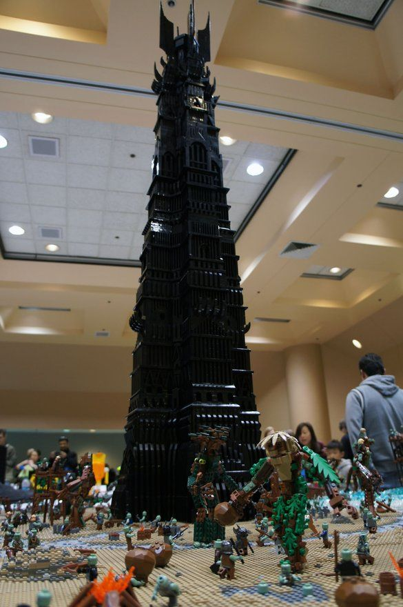 THE BEST LEGO CREATIONS AT BRICKS BY THE BAY 2012