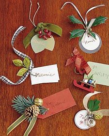 Gift Tags | Step-by-Step | DIY Craft How To's and Instructions| Martha Stewart