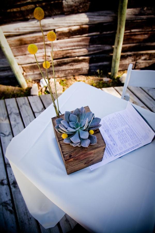 Wood Block Centerpiece : Best images about centerpieces on pinterest succulent