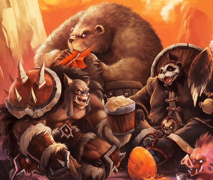Hunter and Pandaren