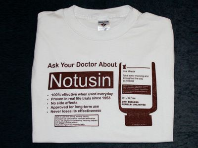 basicstuff4u Our famous Notusin shirt! n a AA narcotics