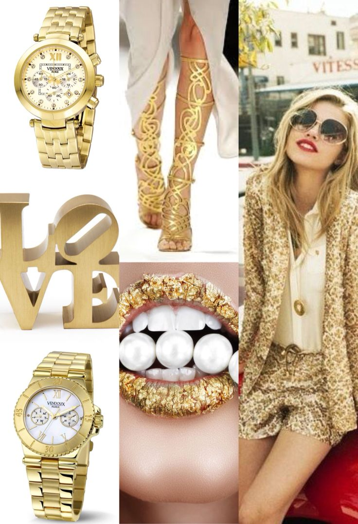 You are Gold!  #VendouX #Watch #Gold  #Fashion #VX #StyleYourOutfit
