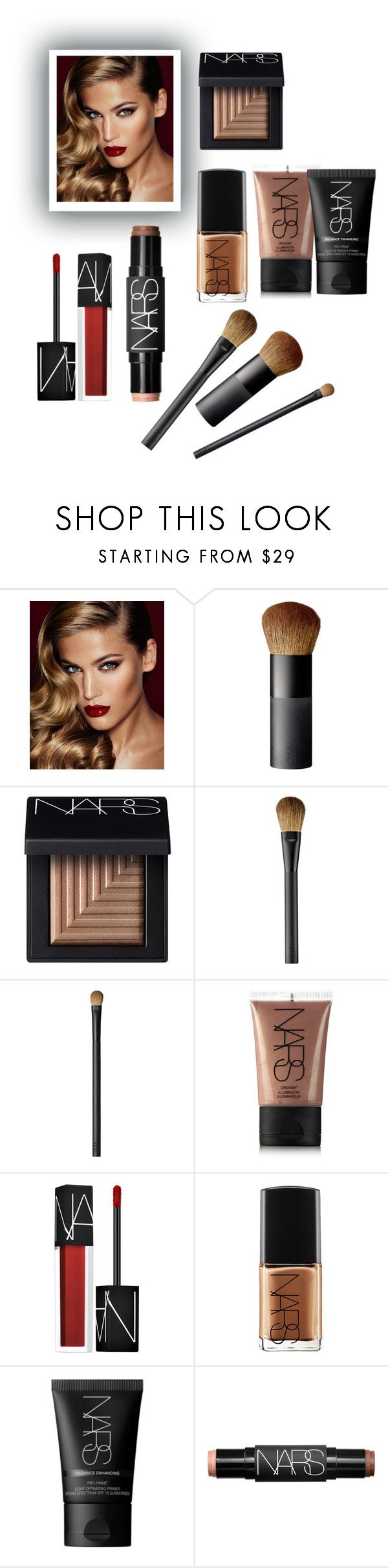 """So Narsistic .."" by parisareyhanian ❤ liked on Polyvore featuring beauty, Charlotte Tilbury and NARS Cosmetics"