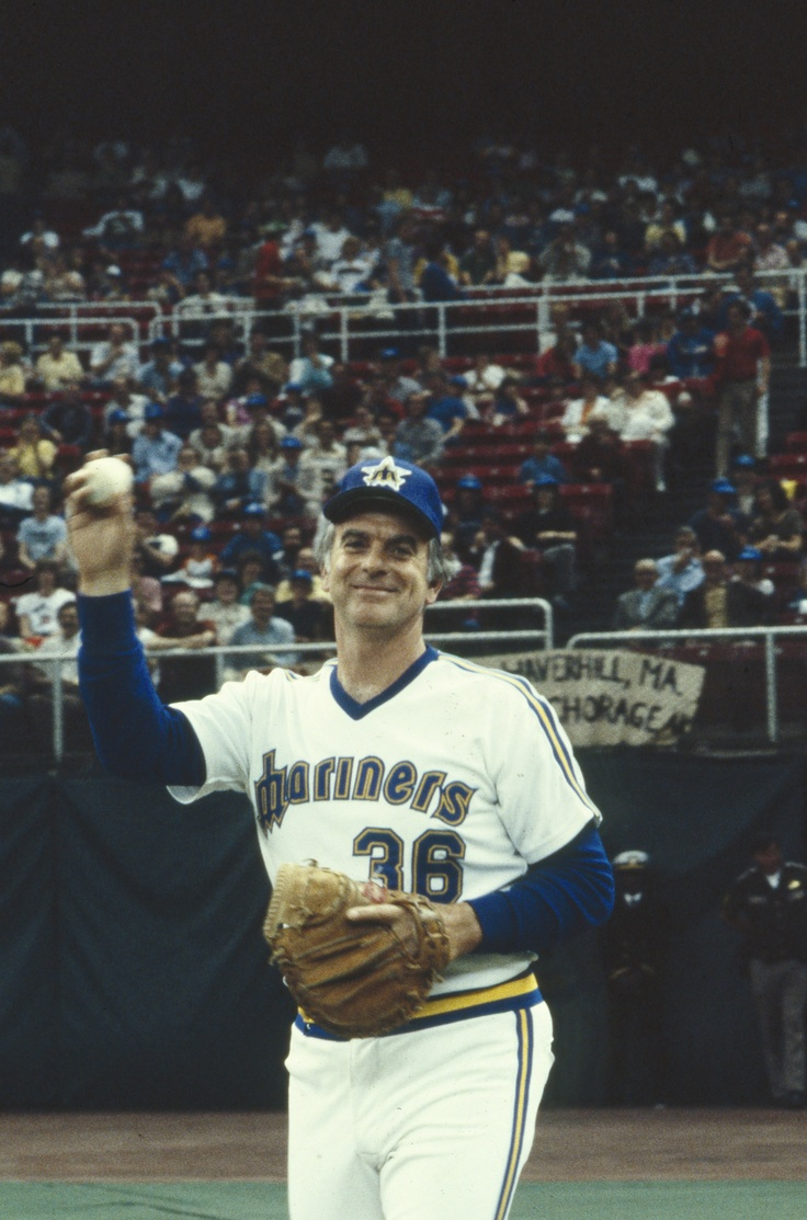 Gaylord Perry, Mariners Starting Pitcher, 19821983 The