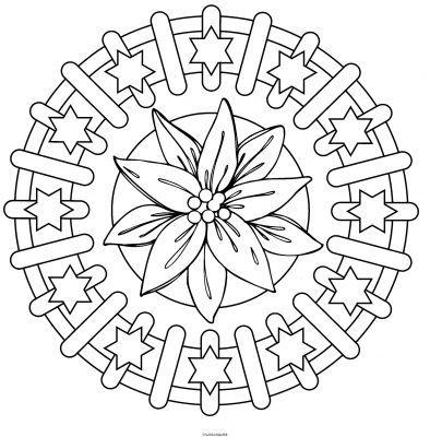 Mandala. Mandala para pintar