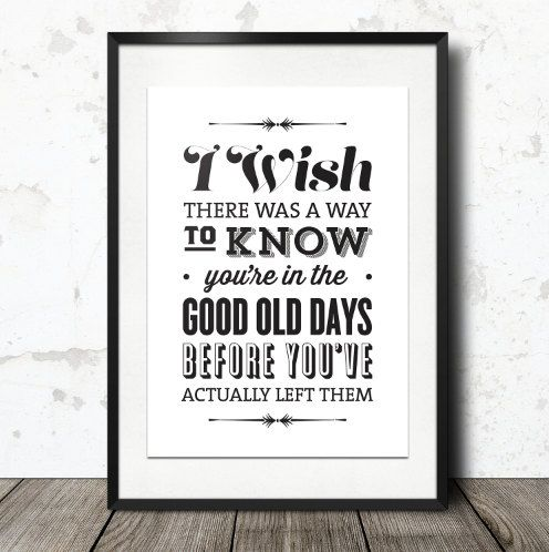 Typography Print The Office Quote TV Quote Andy by paperchat