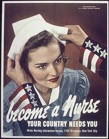 America's involvement in World War II had a profound effect on the profession of nursing.