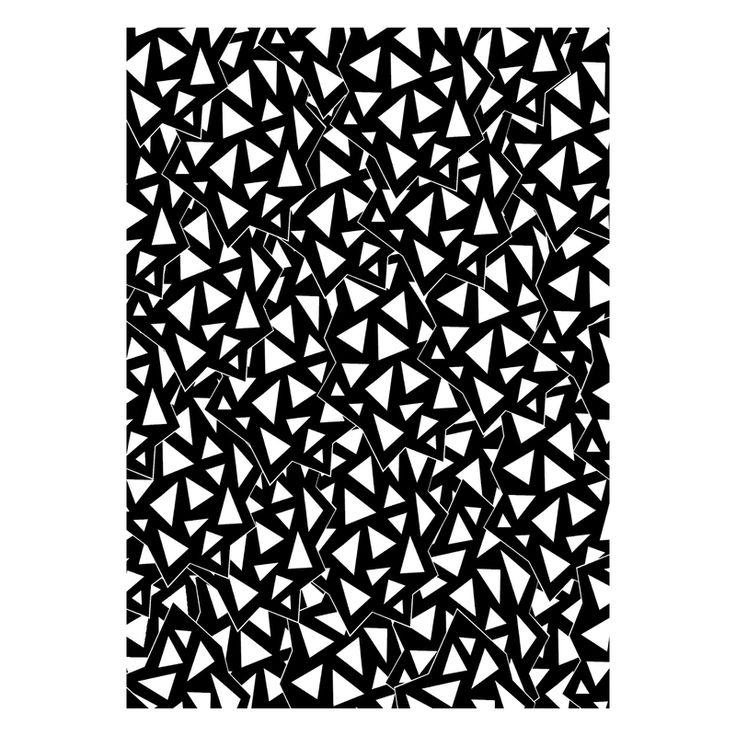 Crystal postcard by Nouseva Myrsky. #postcard #pattern #design
