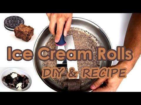 20 best ice cream rolls images on pinterest fried ice cream ice make rolled ice cream at home with oreo cookies brownie ccuart Images