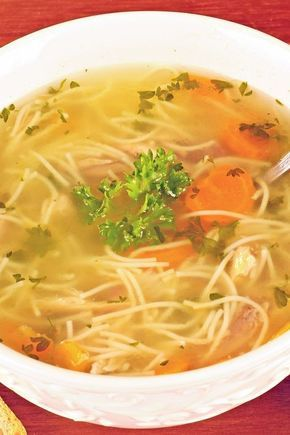 Weight Watchers 5 Smart Points Quick Chicken Noodle Soup Recipe