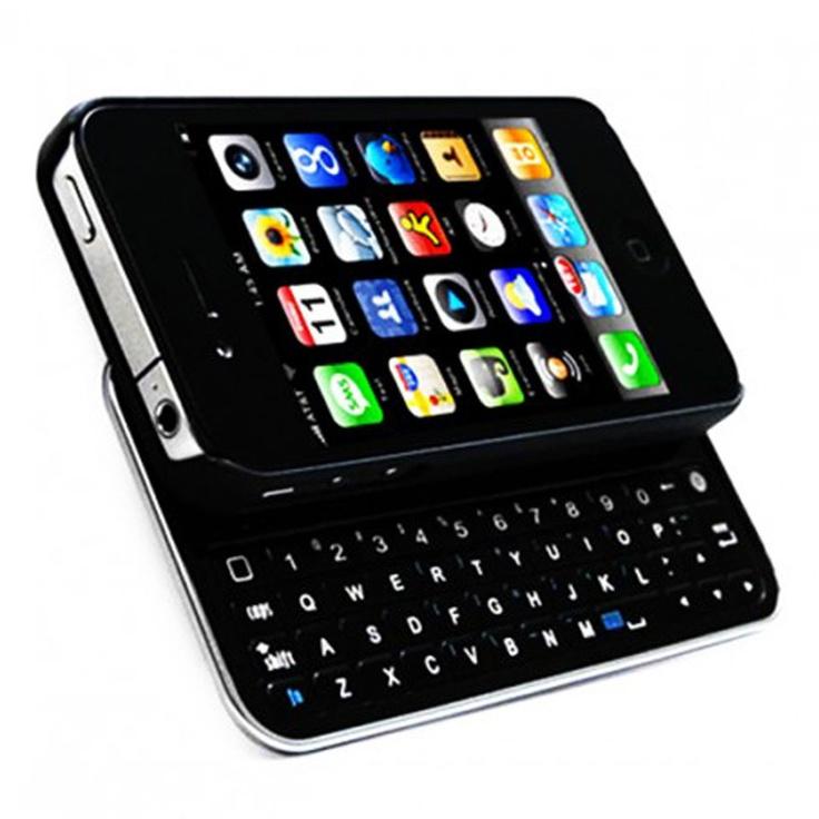 Sliding Bluetooth Keyboard & Hard Case Combo
