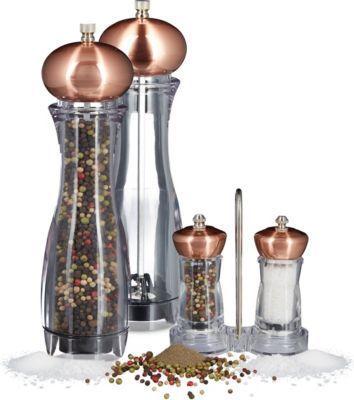 relaxdays 5 teiliges Set Gewürzmühlen mit Halter Pfeffermühle Salzmühle Keramikmahlwerk Jetzt bestellen unter: https://moebel.ladendirekt.de/kueche-und-esszimmer/besteck-und-geschirr/geschirr/?uid=aca419fd-1187-589f-b521-9f9deff0247e&utm_source=pinterest&utm_medium=pin&utm_campaign=boards #geschirr #heim #kueche #esszimmer #besteck