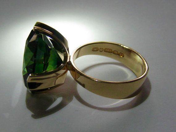 Vintage 14 K gold ring Elis Kauppi Kupittaan Kulta Oy