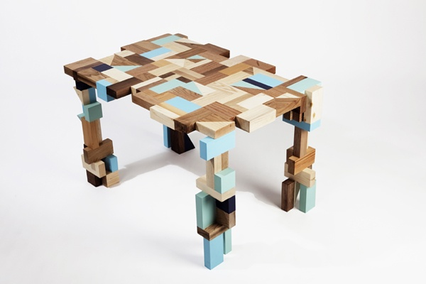 #TheDeskProject: 11 New York woodworkers/architects/artists designed and fabricated a kid's desk to be auctioned off to support the education of orphans in Nepal throught the 'Kids of Kathmandu' non-profit organization. This one is by MADE.