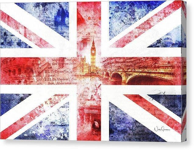 Union Jack Art!  UK art, Union Jack Art, UK flag art, Great Britain canvas and art prints now available by Nicky Jameson  #london_only #igerslondon #visitlondon #thisislondon #london4all #unionjack, #london_enthusiast #londonforyou #toplondonphoto #londonp