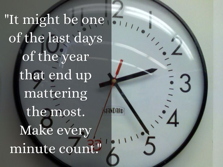 """""""It might be one of the last days of the year that end up mattering the most. Make every minute count."""" Teacher Eyes: Quotes from Jeff Charbonneau, 2013 National Teacher of the Year"""