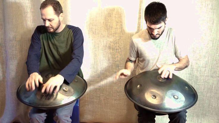 Saraz C# Minor Handpans - Mark Garner and Josh Rivera