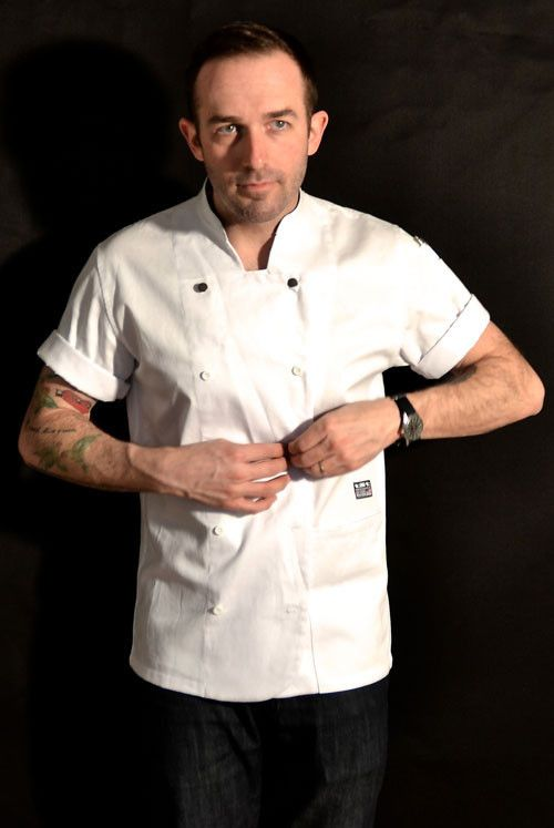 MEN'S CHEF COAT   Chef wear by Tilit: chef coats, chef pants, aprons, work-shirts, custom workwear, server uniforms, made in USA chef gear.