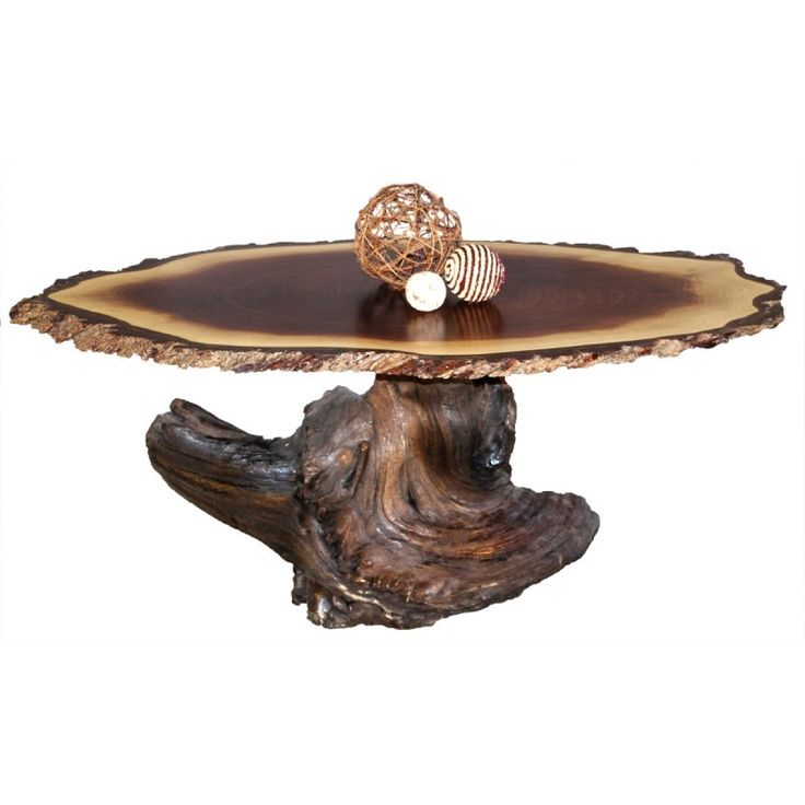 Browse Country Lane Furnitureu0027s Amish Live Edge Coffee Tables Like This  Walnut Oval Live Edge Coffee Table With Custom Sizes And Wood Species  Available.