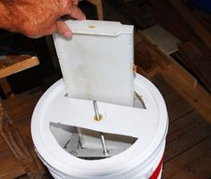 """Low Cost DIY """"Honey Extractor"""" for small scale Bee Keepers - Democratic Underground"""